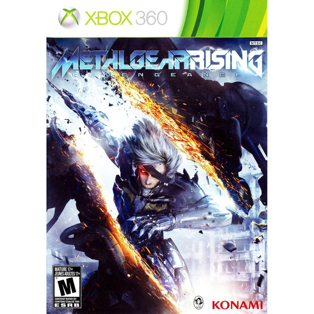 Metal Gear Rising Revengeance PRE-OWNED Xbox 360 | Products