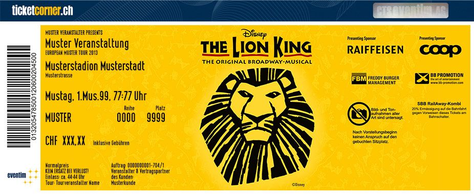 Disney The Lion King - Das Original Broadway-Musical erstmals in der Schweiz! Tickets unter: http://www.ticketcorner.ch/disney-the-lion-king-tickets.html?affiliate=PTT&doc=artistPages/tickets&fun=artist&action=tickets&kuid=400989 #lionking #disney