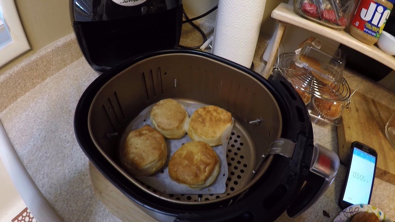Baking can biscuits in the Power Airfryer XL what not to