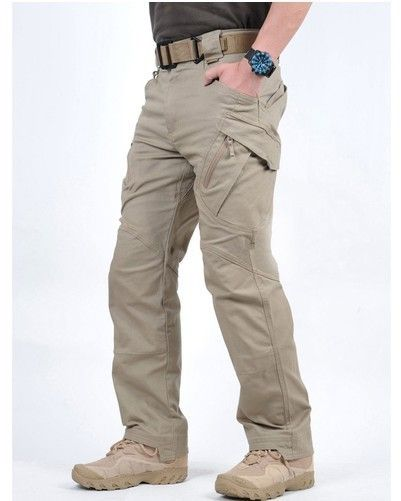 7f8d2d7c25d3 Free shipping IX9 Outdoor Sports Hiking Cotton Pants Trousers Multi Pocket  SWAT Combat Pants Overalls Trousers