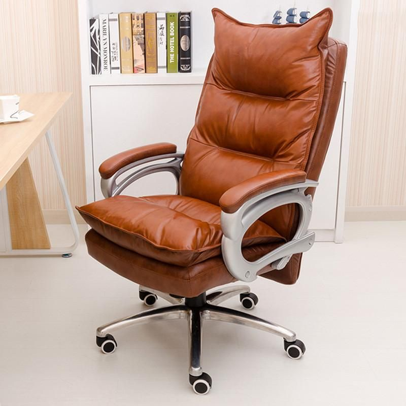Luxurious And Comfortable Home Office Chair Adjule Height Ergonomic Boss Seat Furniture Swivel C Icon2