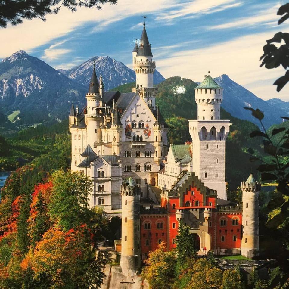 Neuschwanstein Castle The Castle That Walt Disney Patterned Cinderella S Castle After Neuschwanstein Castle Germany Travel Destinations Castle