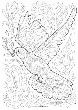 Colouring Pages For Older Kids And Adults Colouring Pages Coloring Pages Peace Art