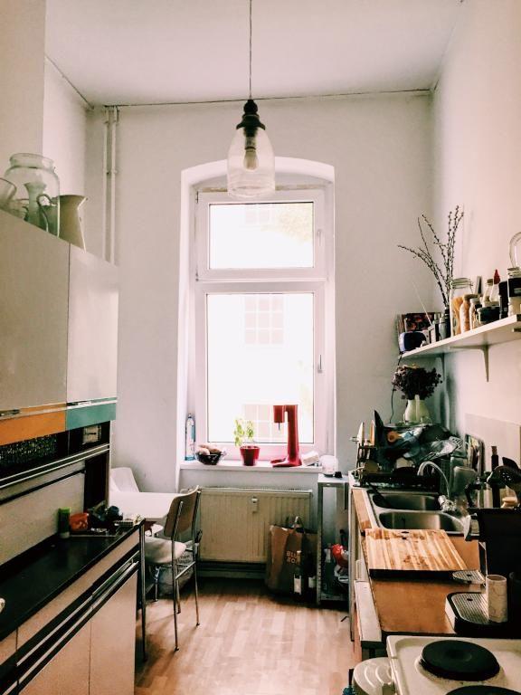 Schöne Berliner Altbau-Küche in Prenzlauer-Berg #WohneninBerlin - bilder in der küche