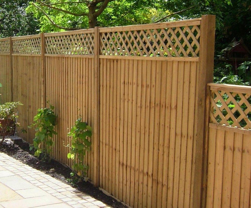 Feather Edge Fence Panels Trellis Garden Gate Design Trellis Fence