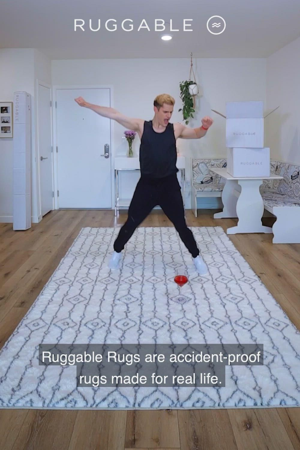 Finally, A Rug You Can Spill On