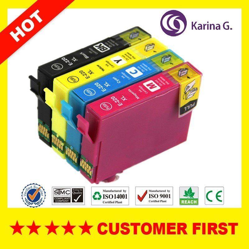 Comprar 4x Cartuchos De Tinta Genericos 220xl Juego De Tintas Para