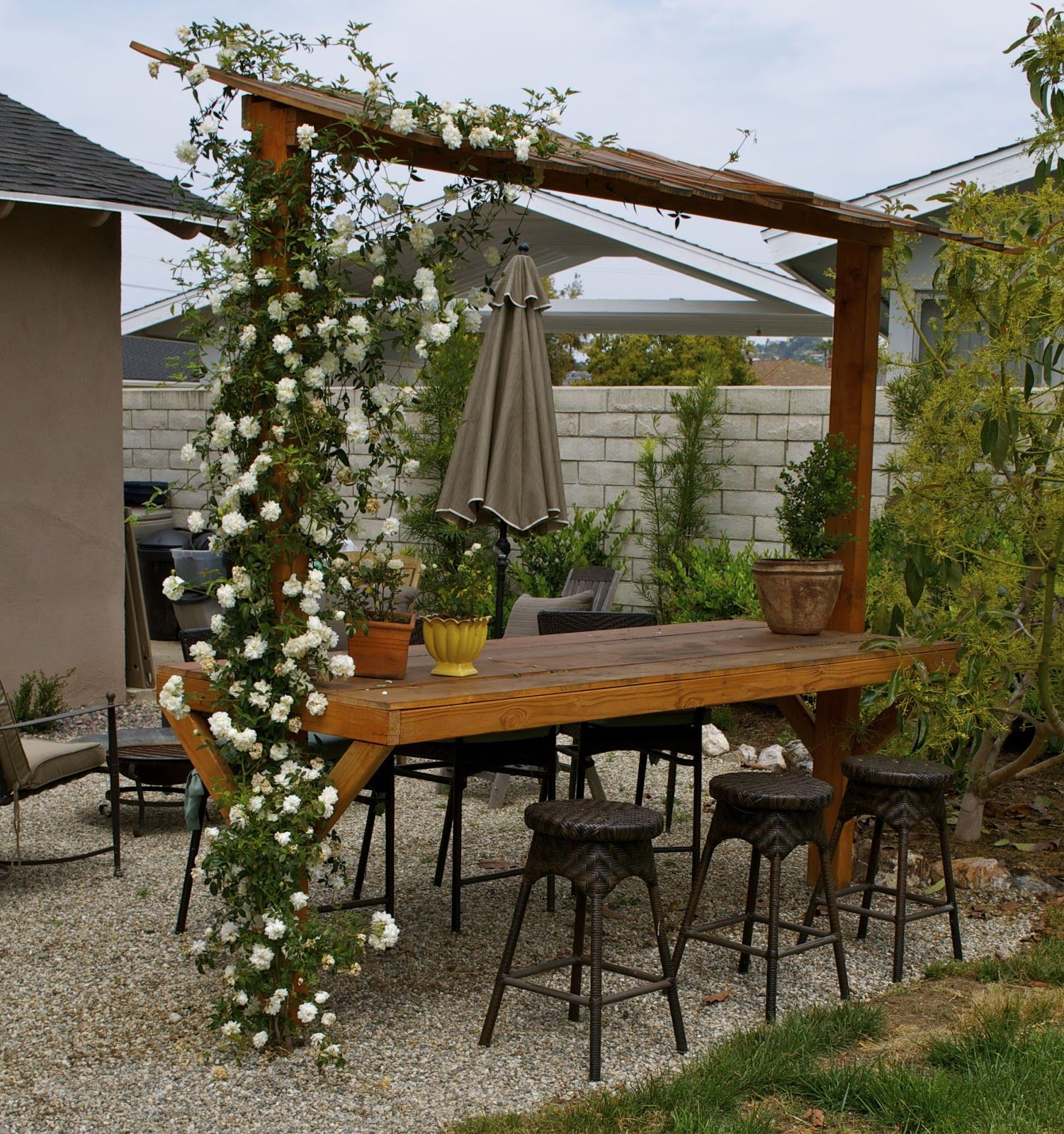 How to Build an Outdoor Bar | have spent countless mornings at the ...