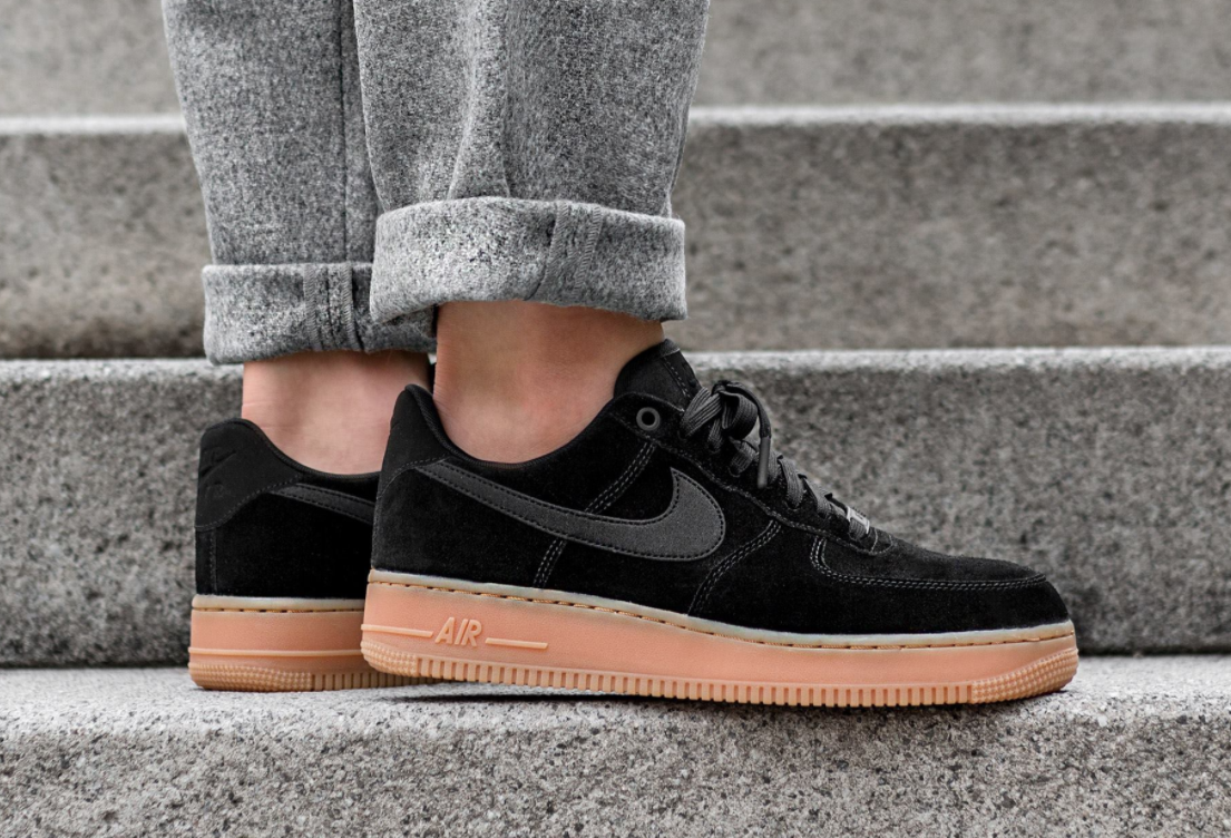 new arrival 10468 02ce1 The Nike Air Force 1 Low Black Gum Is A Stylish Pair