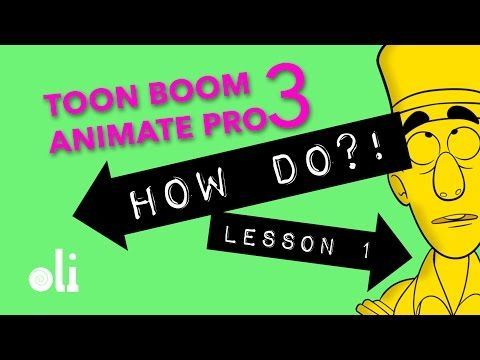 Toon Boom Animate Pro 3 Lesson 1 - General Drawing - YouTube