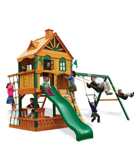 Gorilla Playsets Riverview Swing Set Zulily Swing Set