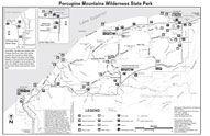 Porcupine Mountains Park Use Map   Home Sweet Heaven   Pinterest