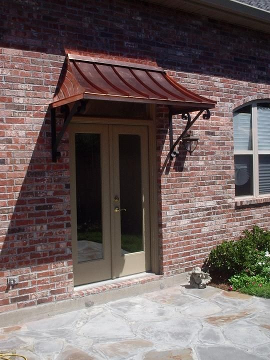 The Copper Juliet Awning