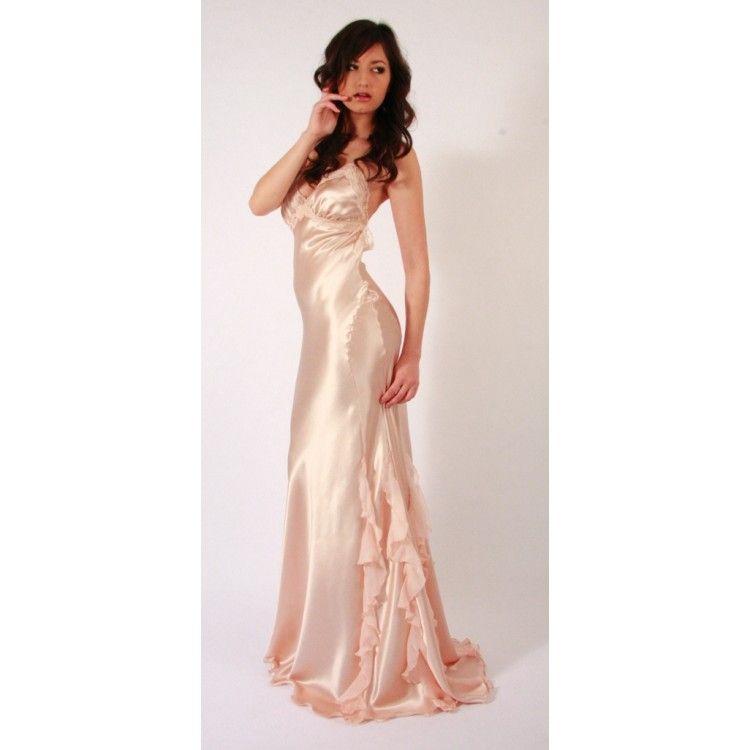35-pink-silk-nightgown-750x750.JPG (750×750) | Rain | Pinterest ...