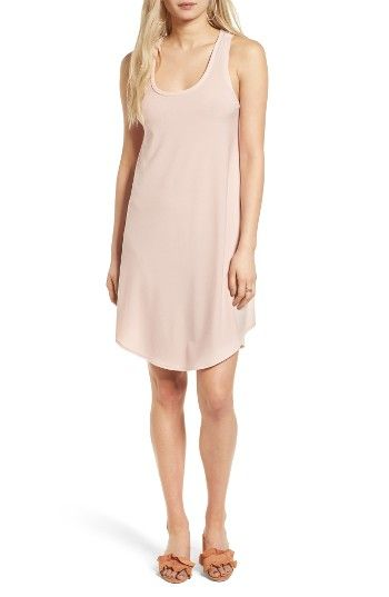 Free shipping and returns on Leith Tank Dress at Nordstrom.com. Keep it sweet and simple in a breezy tank dress cut from lightweight crepe and finished with a cool high/low hem.