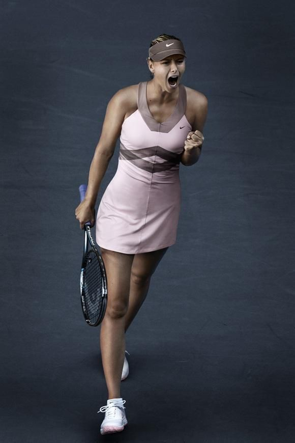 Maria Sharapova Pink Tennis Dress Ultimate In Comfort And Style Tennis Dresses Tennis Skirts Tennis Ladies App Tenis De Moda Trajes Con Tenis Ropa Tenis