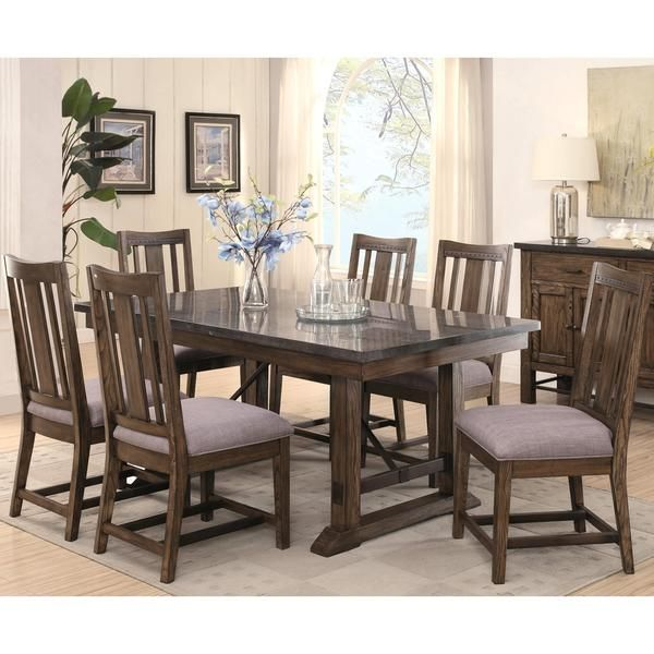 Architectural Industrial Rustic Design Dining Set With Laminated Simple Laminate Dining Room Tables Design Decoration