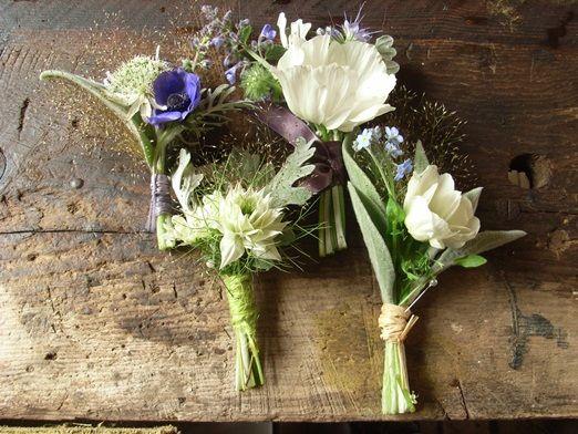 Free Onholes From Cornish Florist The Blue Carrot Naturally Grown Seasonal Wedding Flowers