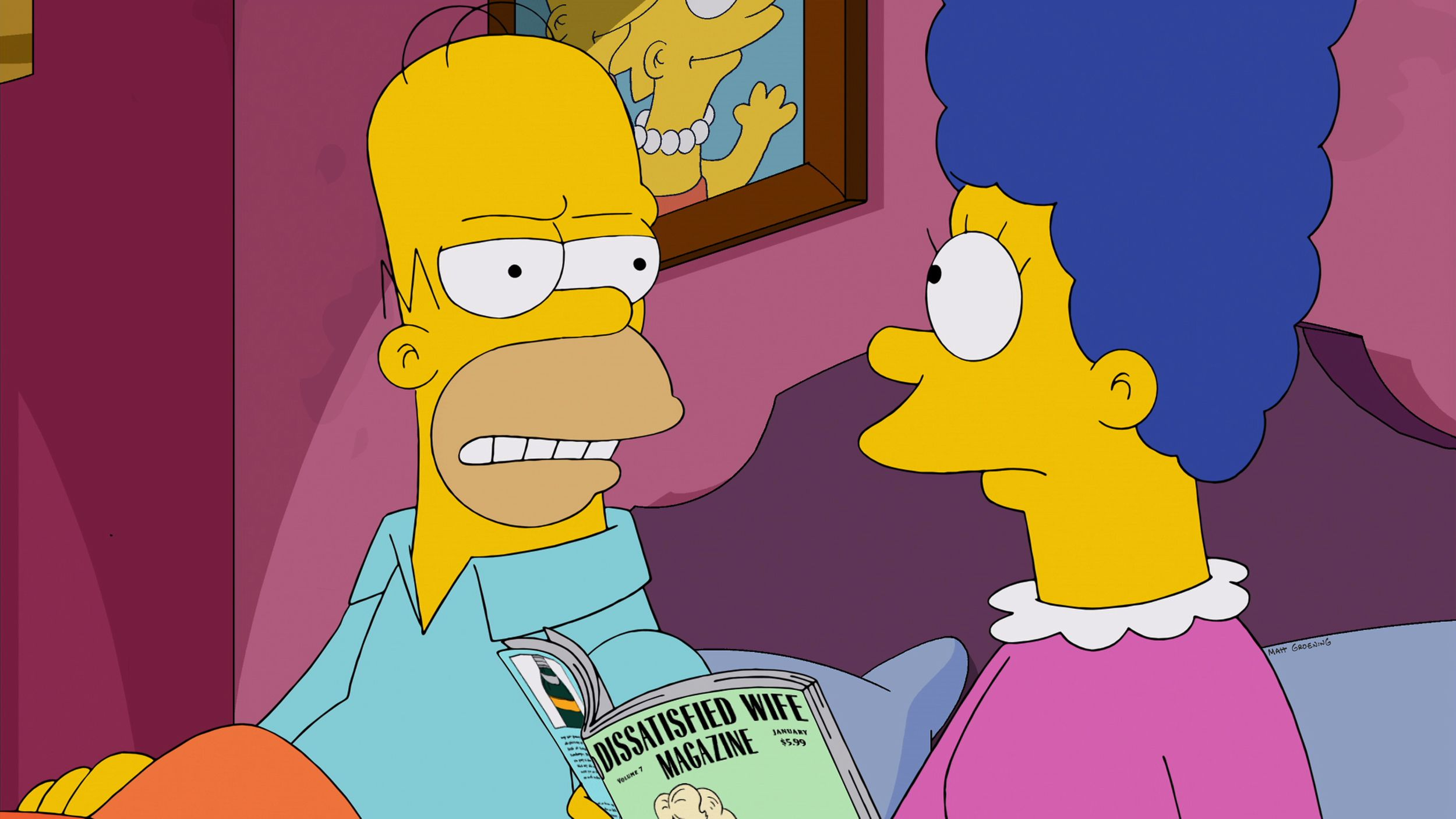 Are Marge and Homer separating on The Simpsons? Say it