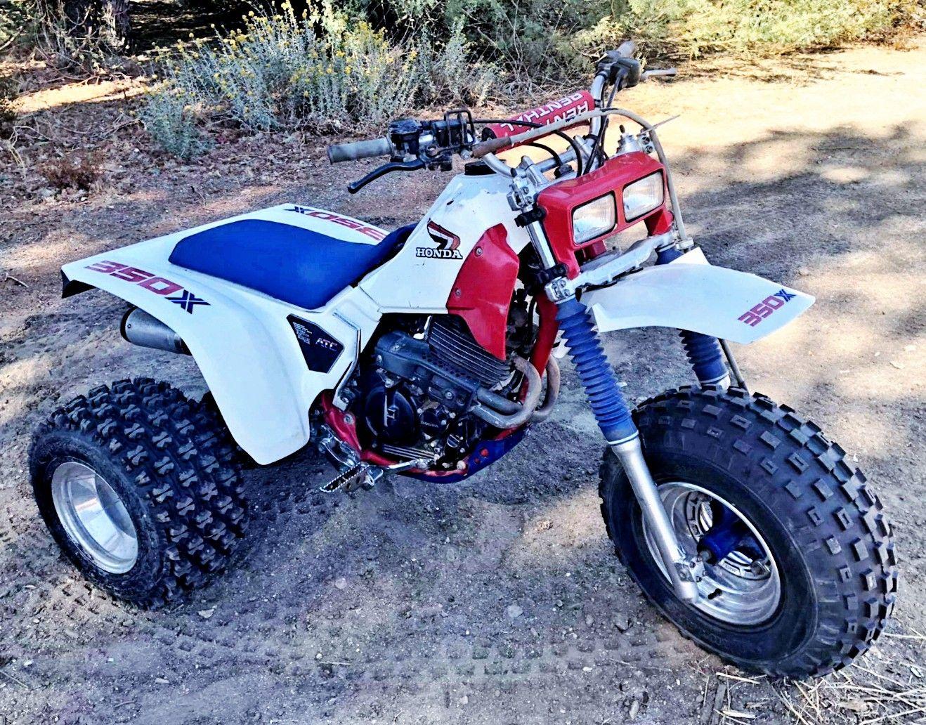 1986 Honda Atc350x Honda Trike Bike