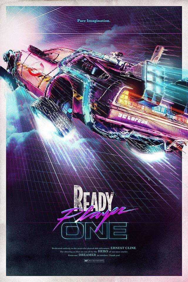 Anyone else SUPER excited for this movie: Ready Player One