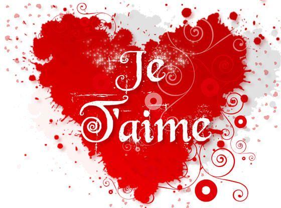 Je Taime Bisou Belle Citation Amour Carte Virtuelle