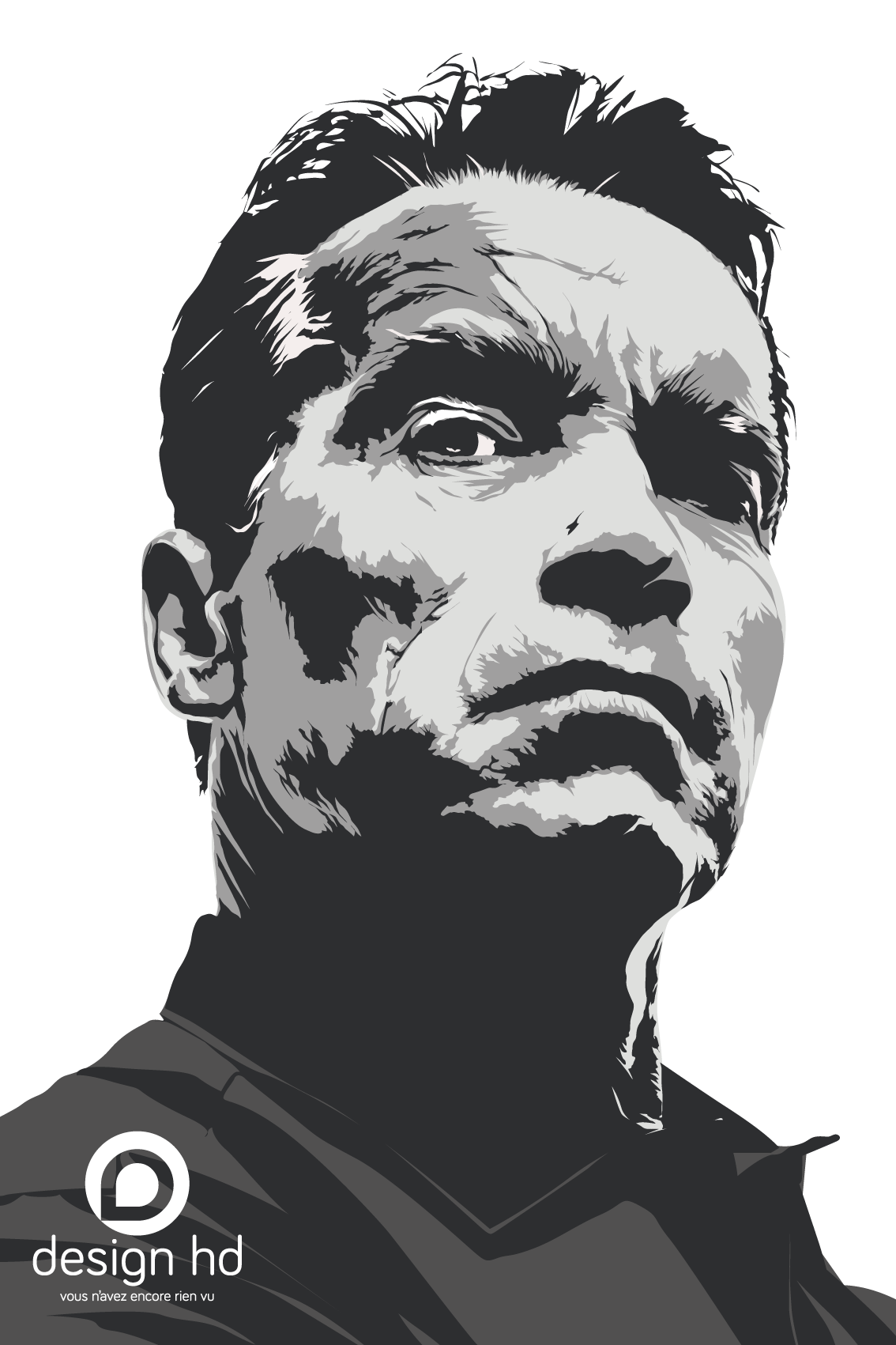 Arnold Schwarzenegger By Designhd Schwarzenegger Schwarzy Governator Vector Adobe Pochoir Peinture Encre De Chine
