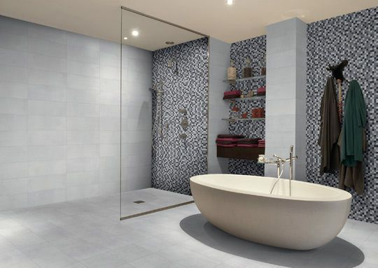 Carrelage salle de bains faience salle de bains les nouveaut s tendances - Tendance carrelage salle de bain ...