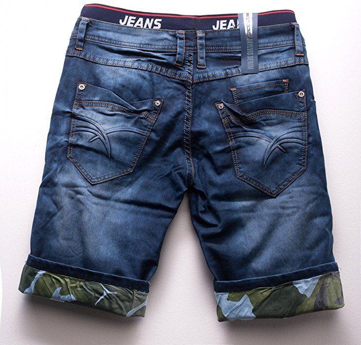 Pantalones Cortos De Mezclilla Para Hombres 3 4 Bermuda Capri Pantalones H1513 Fa Pantalones De Hombre Moda Capris De Mezclilla Pantalones Cortos De Mezclilla