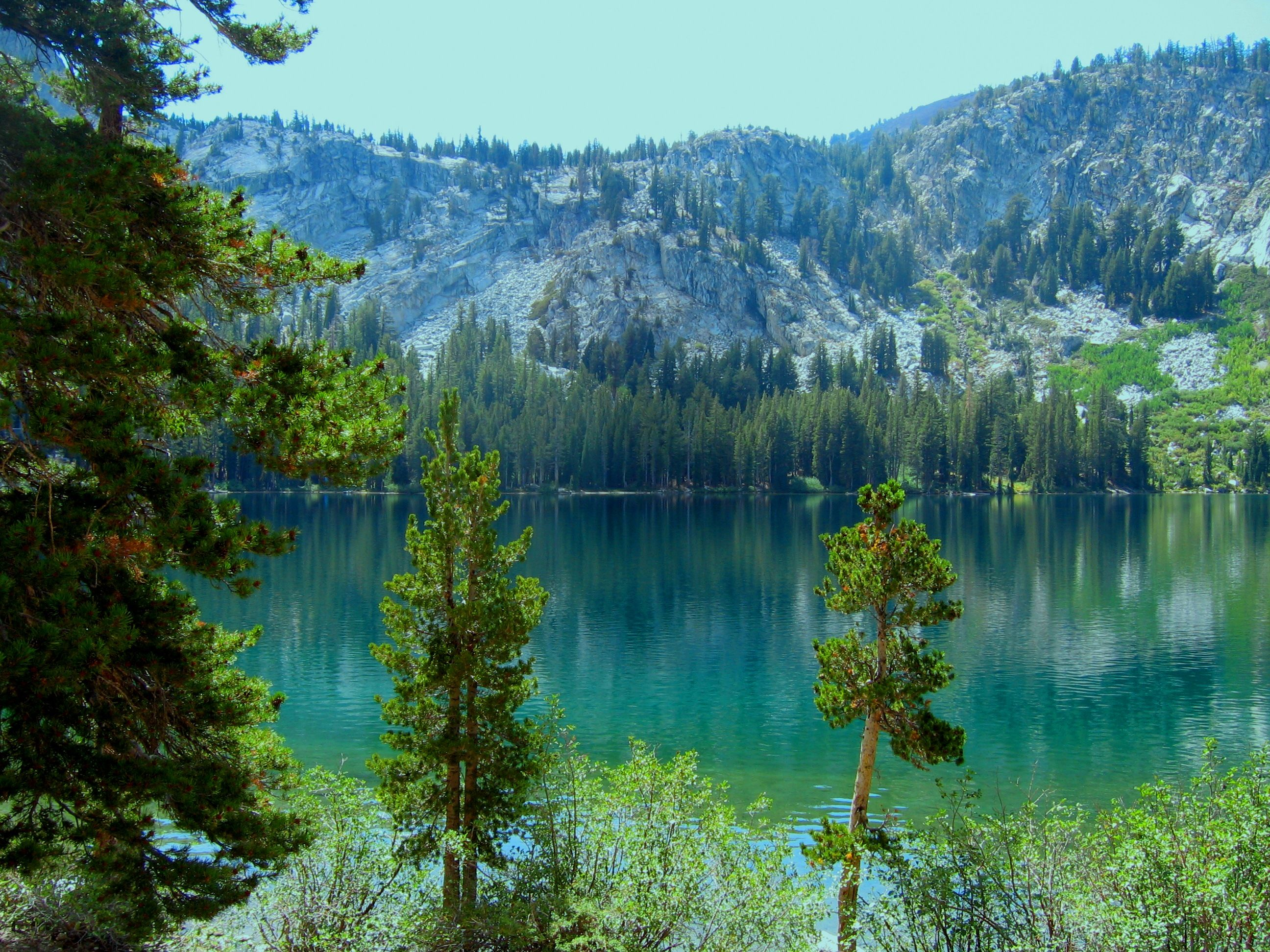 Summer at Lake George, Mammoth Lakes, Ca.