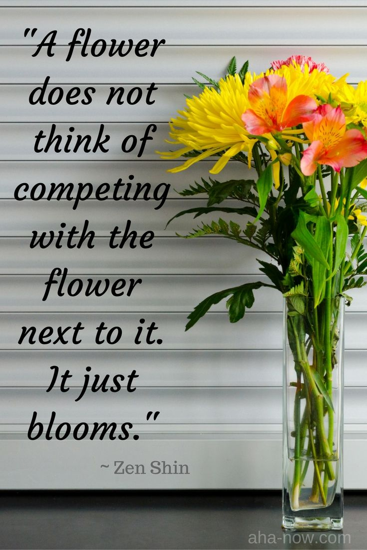 Great thoughts about flowers