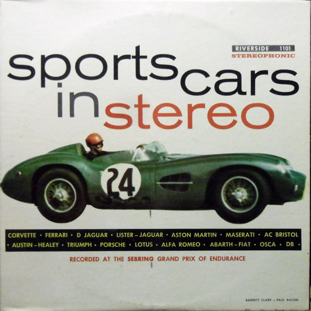 Sports Cars In Stereo Riverside Sound Effects Albums Were - Common sports cars