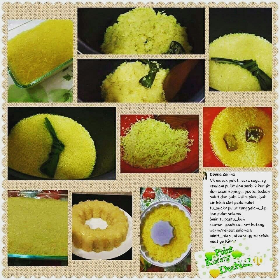 Pulut Kuning Pressure Cooker Recipes Cooking Recipes Just Cooking