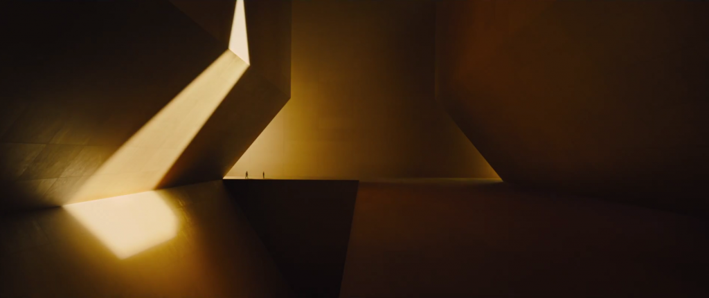 Did You Know The Wallace Corporation Building In Blade Runner 2049 Was Inspired By An Ancient Japanese Te Blade Runner Blade Runner 2049 Brutalist Architecture