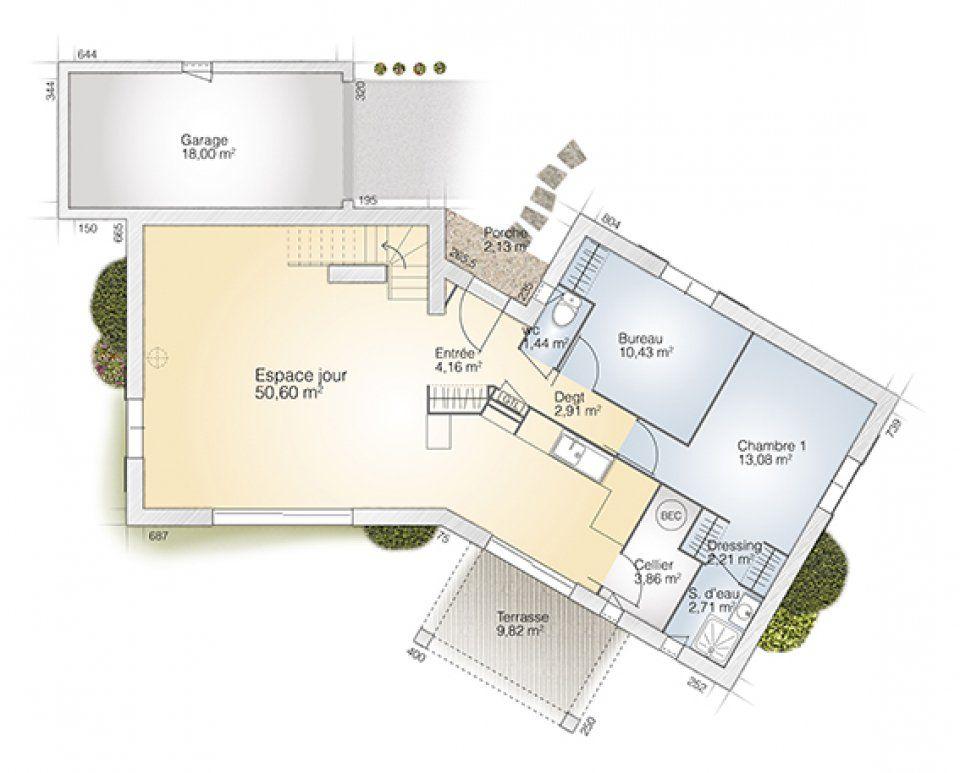Plan Maison Neuve  Construire  Maisons France Confort Diamant