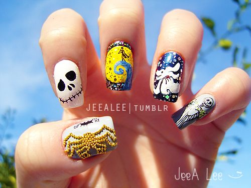 Absolutely Awesome Disney Nail Art - Absolutely Awesome Disney Nail Art Disney Nails Art, Disney