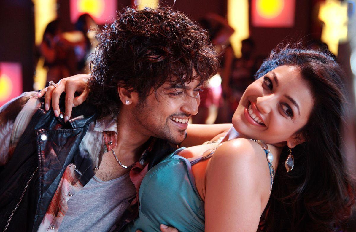 Suriya And Kajal Aggarwal In Maattrraan 2012 Movie Surya Actor Movies