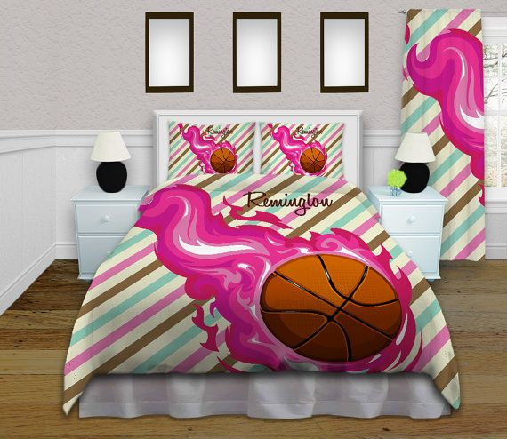 Basketball Comforter Sets Pink Twin Bedding Set Sports Comforter Set Queen Bedroom Sets Twin King Twin Xl Pink Teal Stripes 150