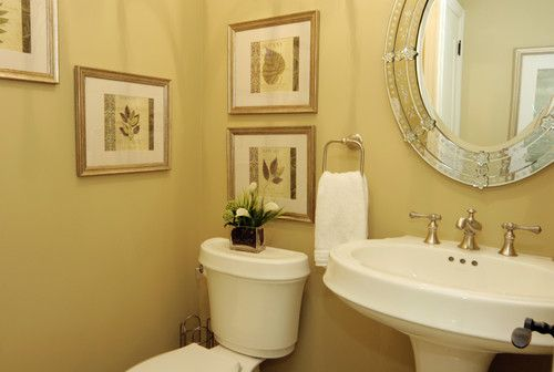 Lovely Traditional Half Baths Design, Pictures, Remodel, Decor And Ideas