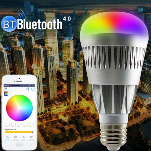 23 77 10w Rgb Warm Light Multi Color E27 B22 E26 Port Rectangular Smart Led Lights Smart Bulb Led Light Bulbs