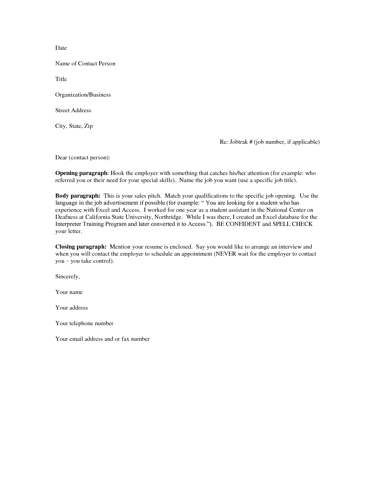 free help with resumes and cover letters httpwwwresumecareer - Resume Cover