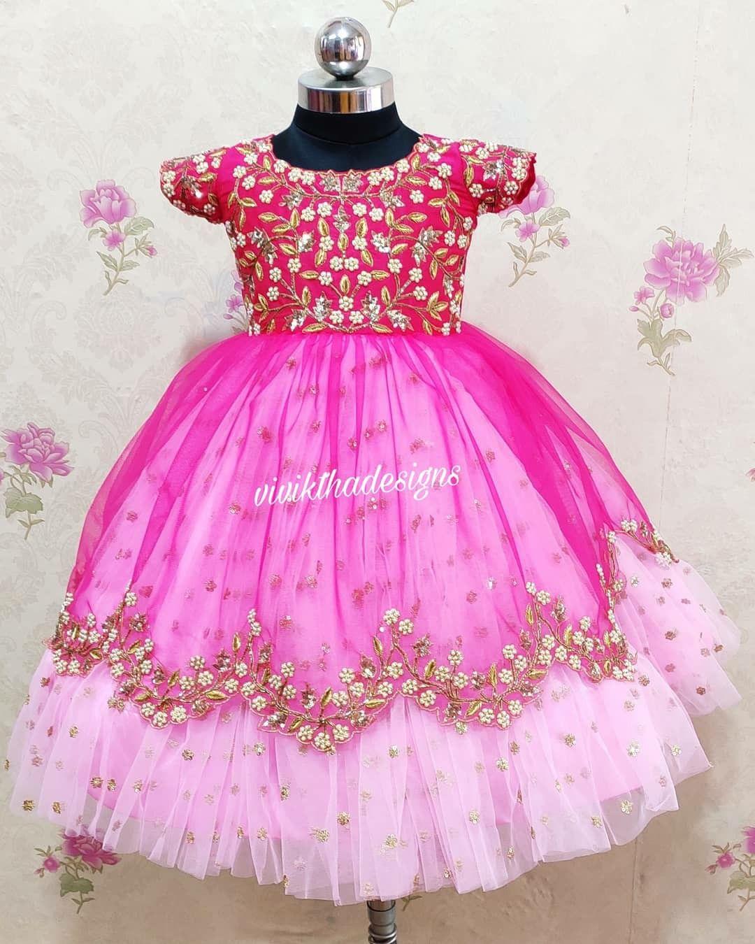 Kids birthday frocks  Kids designer dresses, Kids frocks design