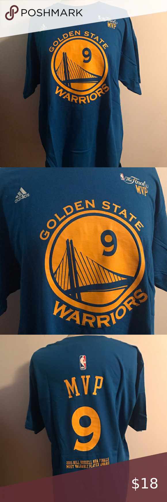 NWT Golden State Warriors Championship Tee NWT in 2020 (With images)   Golden state warriors ...