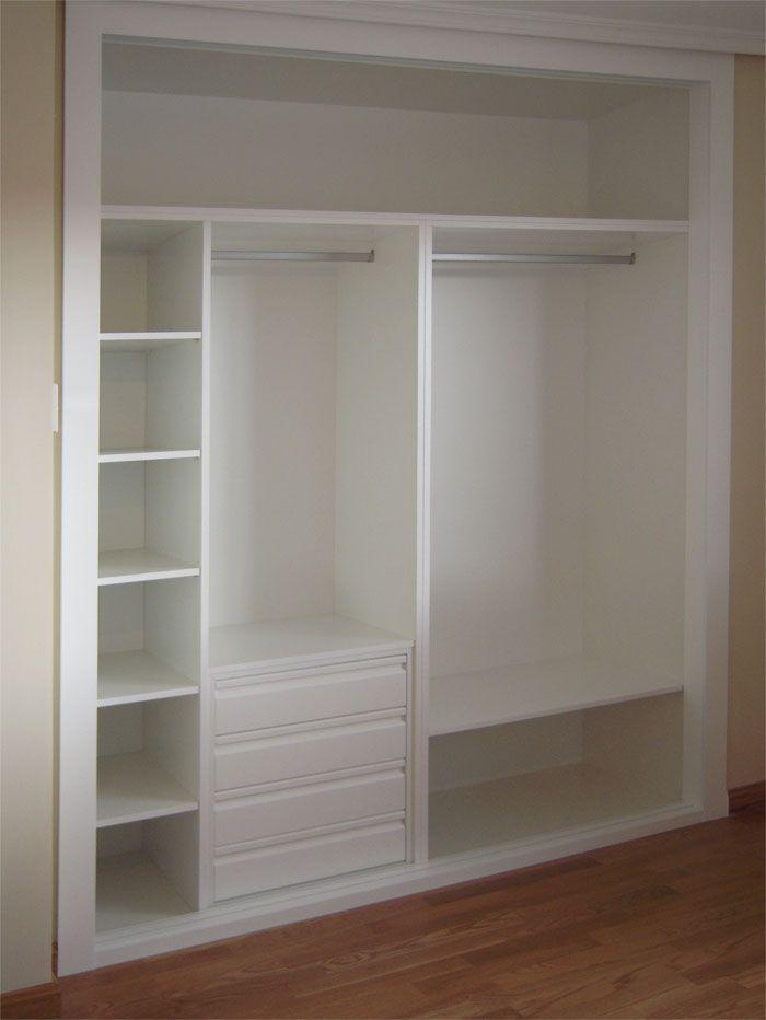 Barras de armario armarios armario armarios a medida armarios empotrados frentes de armario - Armarios empotrados interiores ...