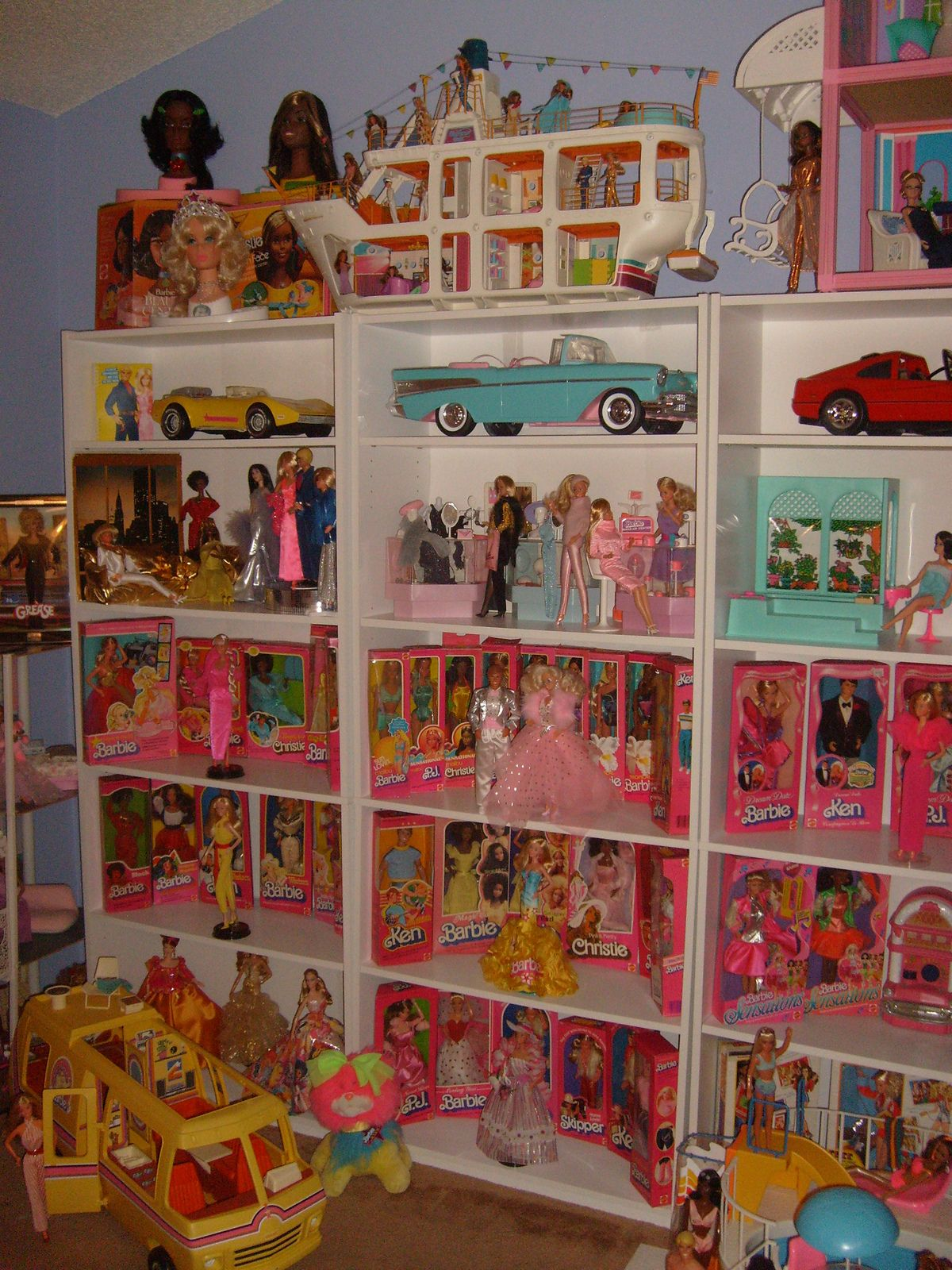 Barbie Bedroom In A Box: Finally Organized! In 2019