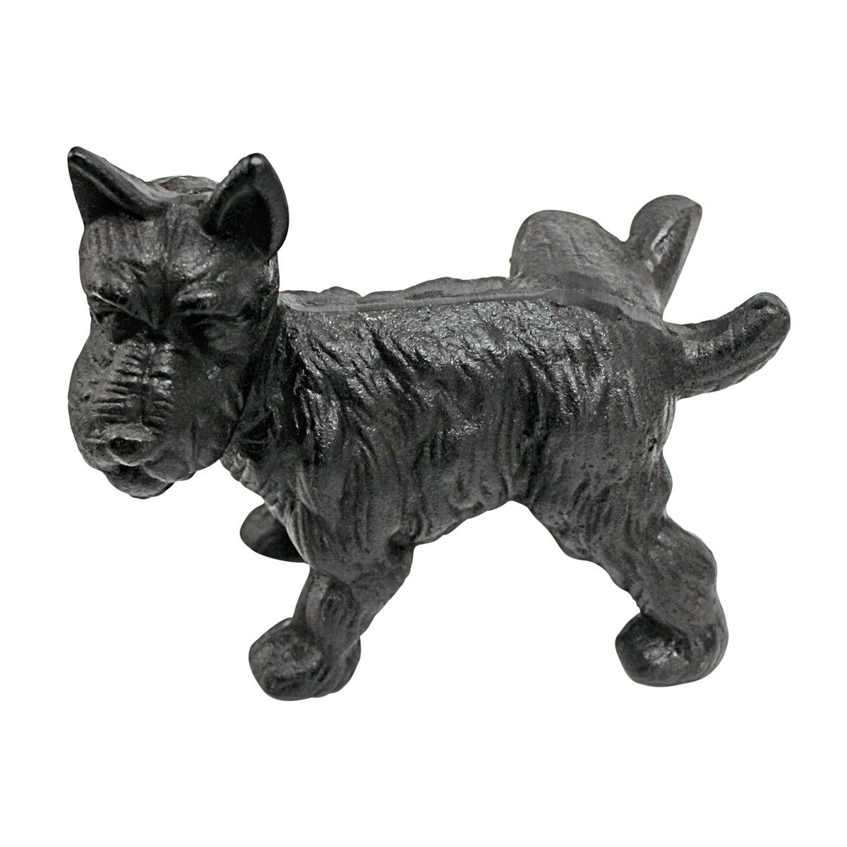 Design Toscano Naughty Peeing Scotty Dog Die-Cast Iron Bookend and Doorstop