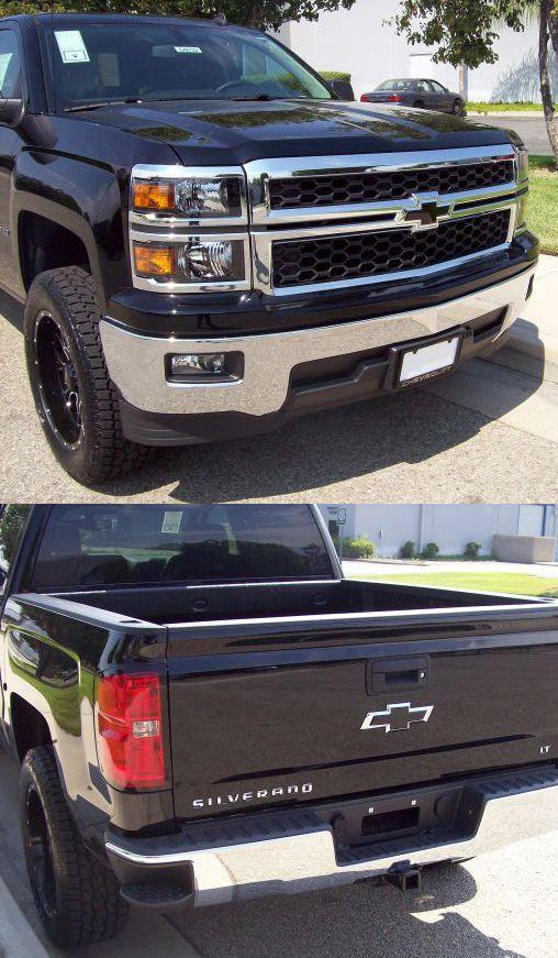 2014 Silverado 1500 Insert Black Bowtie Emblem Silverado Truck Silverado 1500 Chevrolet Trucks
