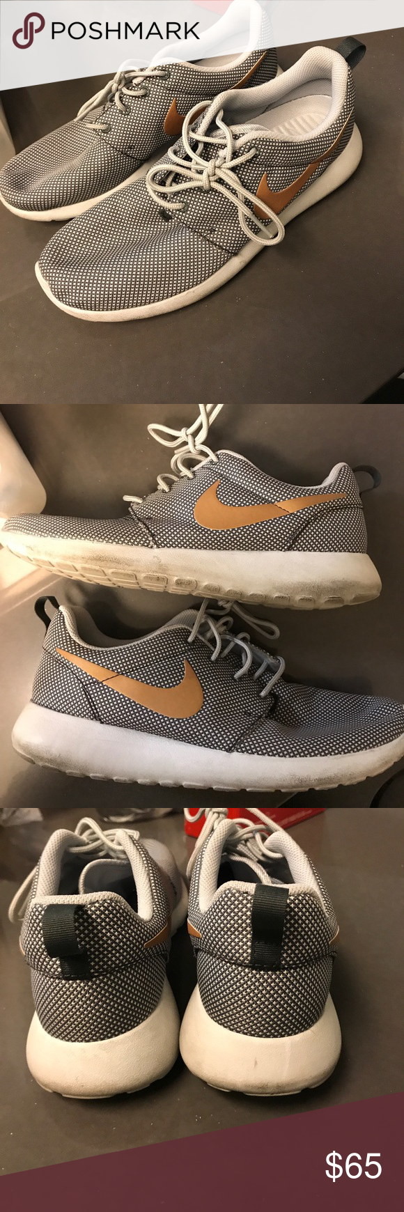 Nike roshes These are in very good condition! I only wore them to work for