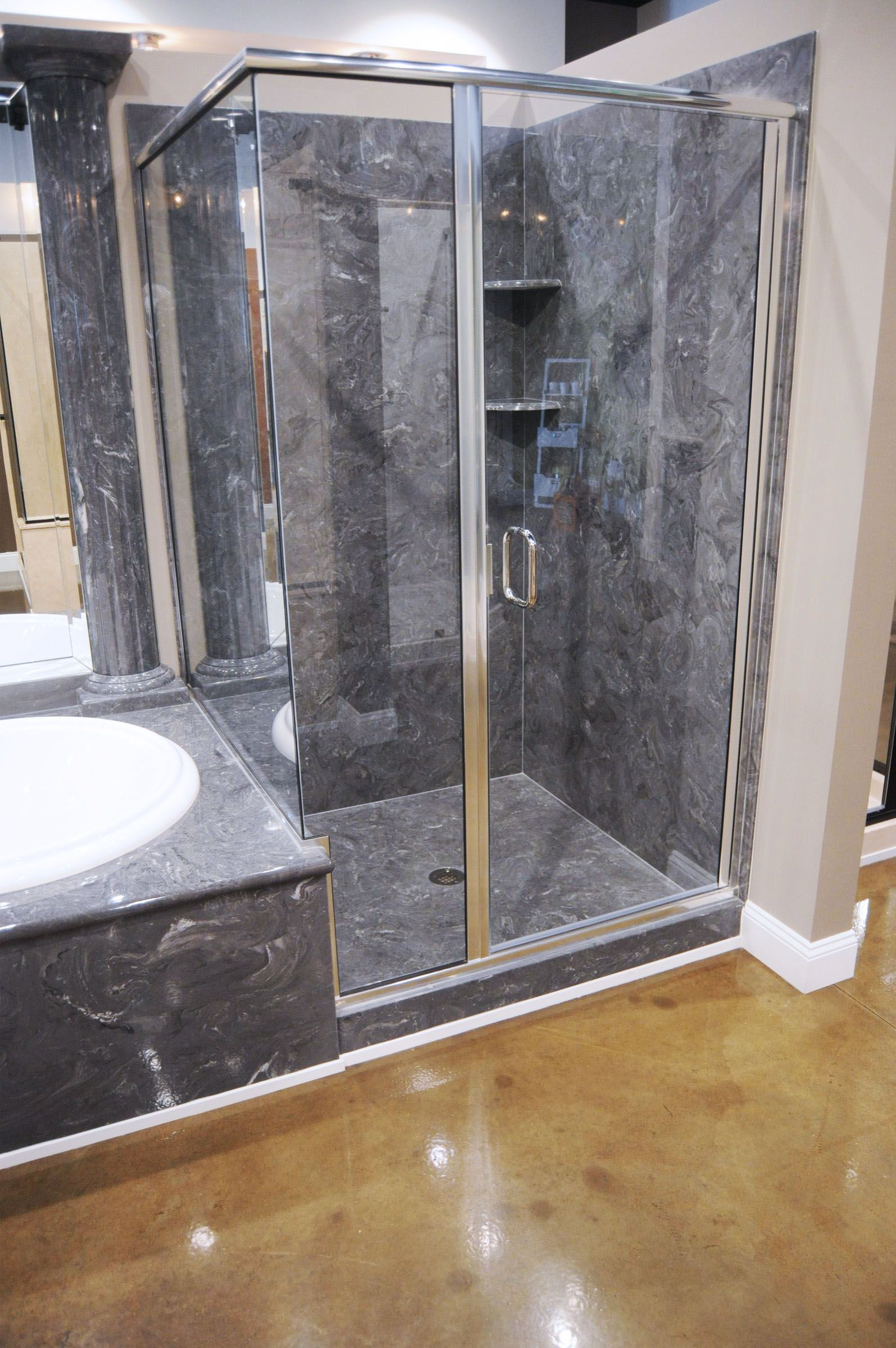 2 Wall Tub Shower Combo Cultured Marble Shower Wall Panels Cultured Marble Shower Walls Cultured Marble Shower