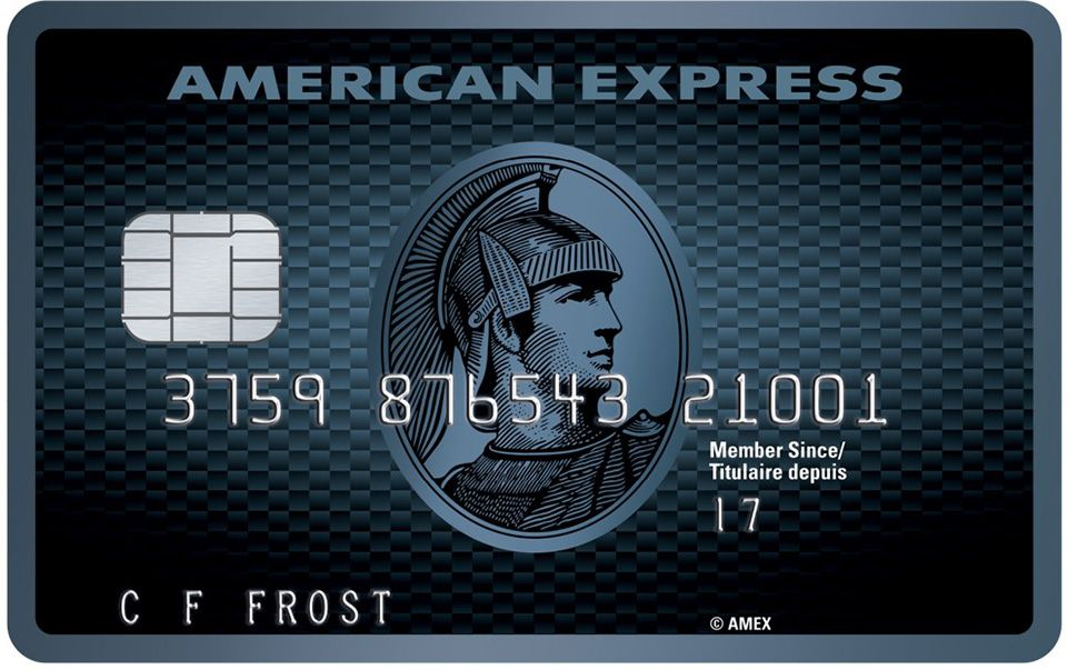 The New Cobalt Card Available In Canada American Express Card Credit Card Design Credit Card Reviews